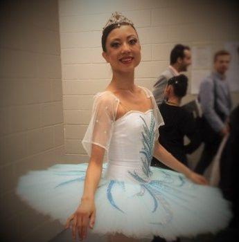 professional ballerina Tala Lee-Turton Bolshoi Ballet Academy WBC 2016